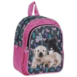 Cleo és Frank kutyás kisméretű hátizsák - Bulldog és labrador