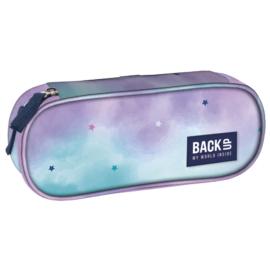 BackUp ovális tolltartó - Pasztell csillagok