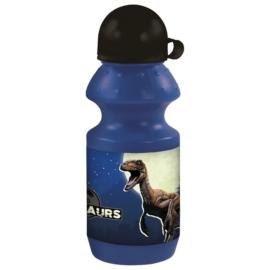 Dinoszaurusz műanyag kulacs kupakkal