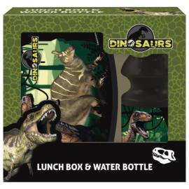 Dinoszauruszok uzsonnás doboz kulaccsal
