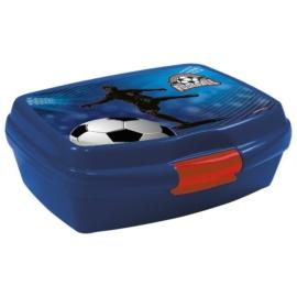 Focis műanyag uzsonnás doboz - Blue