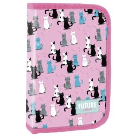 Future by BackUp cicás felszerelt tolltartó - Pink