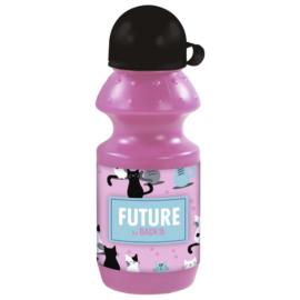Future by BackUp műanyag kulacs kupakkal - Cicák