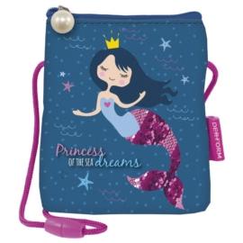 Hableány nyakba akasztható pénztárca - mobiltartó - Princess of the sea