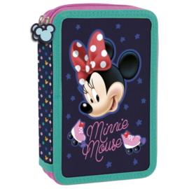 Minnie Mouse felszerelt emeletes tolltartó - Görkoris