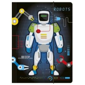 Robotos A/4 gumis mappa