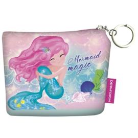 Sellő varázslat pénztárca kulcskarikával