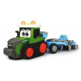 Dickie Happy Fendt lánctalpas traktor ekével - 30 cm (203815003)