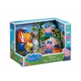 Peppa malac állatkerti játékszett - 3 figurával