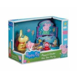 Peppa malac vízalatti játékszett - 3 figurával
