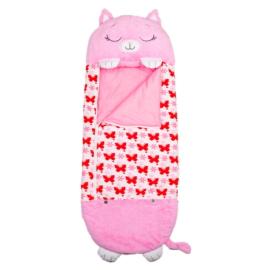 Happy Nappers 2 az 1-ben hálózsák - Pink Cica
