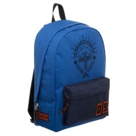 Minecraft iskolatáska, hátizsák - Blue Explore and Create