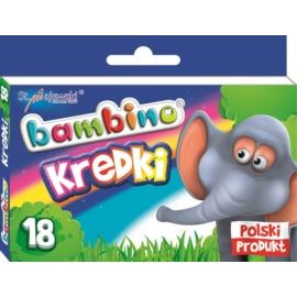 Bambino 18 színű zsírkréta (000201)