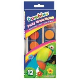 Bambino 12 színű vízfesték készlet (001857)