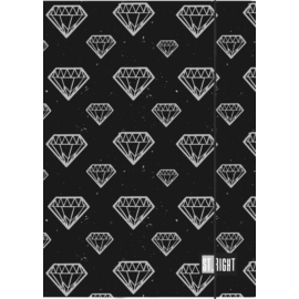 St.Right - Diamonds A/4 gumis mappa (005190)
