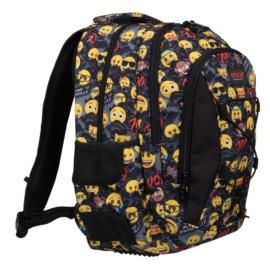Emoji hátizsák, iskolatáska - 3 rekeszes - Welcome to Emojiville (206085)