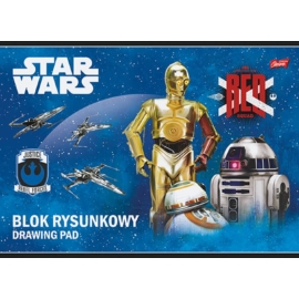 Star Wars VII A/4 vázlatfüzet - 20 lapos (221552)