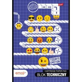 Emoji A/4 rajztömb - 10 lapos (242526)