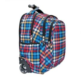 St.Reet - Chequer gurulós iskolatáska, hátizsák (609282)