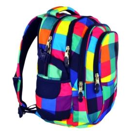 St.Right - Maxi Squares hátizsák, iskolatáska - 4 rekeszes - mellpánttal (612206)