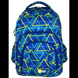 St.Right - Kaleidoscope hátizsák, iskolatáska - 4 rekeszes (612572)
