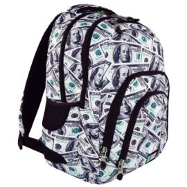 St.Right - Dollars hátizsák, iskolatáska - 4 rekeszes (617201)