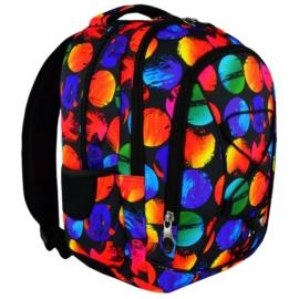 St.Right - Colourful Dots hátizsák, iskolatáska - 3 rekeszes (617638)