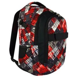 St.Right - St.Grunge hátizsák, iskolatáska - 3 rekeszes (618925)