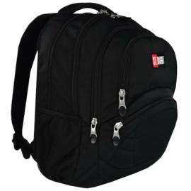 St.Right - St.Black hátizsák, iskolatáska - 4 rekeszes (619076)