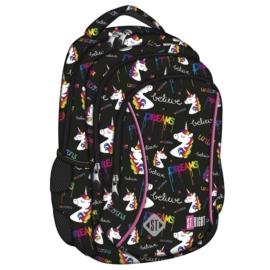 St.Right - Unicorns hátizsák, iskolatáska - 3 rekeszes (620911)