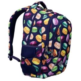 St.Right - Macarons hátizsák, iskolatáska - 3 rekeszes (621819)