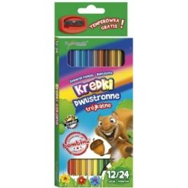 Bambino Duo Colour 12 db-os dupla színű ceruza készlet