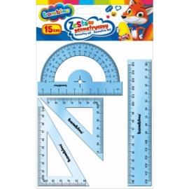 Bambino vonalzó szett 4 db-os - 15 cm