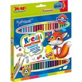 Bambino 24 db-os kétoldalas színesceruza készlet (004964)