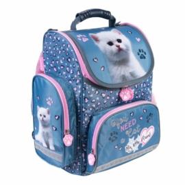 My little friend cicás ergonomikus iskolatáska - You need a cat