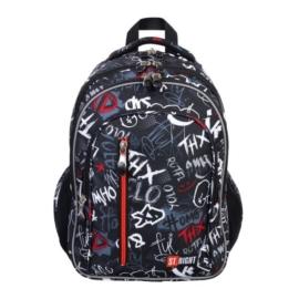 St.Right - Slang Graffiti iskolatáska, hátizsák - 4 rekeszes