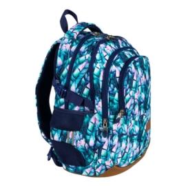 St.Right - Blue Leaves iskolatáska, hátizsák - 4 rekeszes