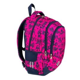 St.Right - Love hátizsák, iskolatáska - 3 rekeszes