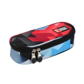 St.Right - Red 3D Blocks ovális tolltartó