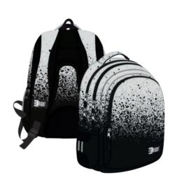St.Right - Reflective Splash hátizsák, iskolatáska - 3 rekeszes