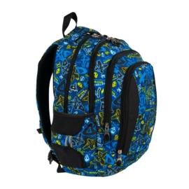 St.Right - XD Art hátizsák, iskolatáska - 4 rekeszes