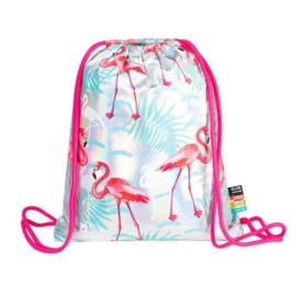 St.Right - Flamingós zsinóros hátizsák - Holografikus