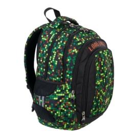 St.Right - Gamer hátizsák, iskolatáska - 4 rekeszes - mellpánttal
