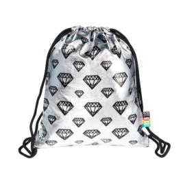 St.Right - Diamonds zsinóros hátizsák - Silver