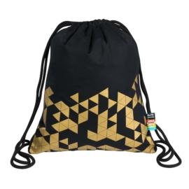 St.Right - Geometry zsinóros hátizsák - Gold