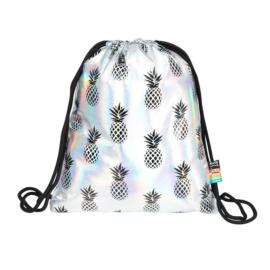 St.Right - Pineapples zsinóros hátizsák - Holografikus