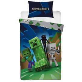 Minecraft Ágyneműhuzat szett - Creepers (MNC-199BL)