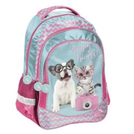 Studio Pets hátizsák, iskolatáska - 3 rekeszes - Happy Friends (PTK-181)