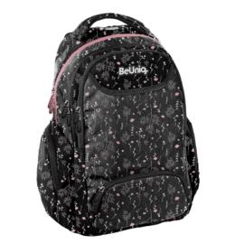 BeUniq iskolatáska, hátizsák - 3 rekeszes - Rose
