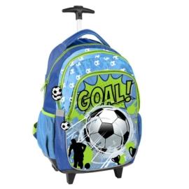 Focis gurulós hátizsák, iskolatáska - Goal